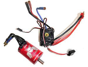 Redcat-Tornado-EPX-Pro-4x4-Brushless-Li-Po-LIPO-ESC-amp-Motor-Combo-Set-3300kv
