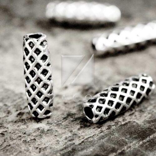 100pcs Lots Tibetan Silver Loose Spacer Charm Metal Bead Jewelry 14x14x4mm