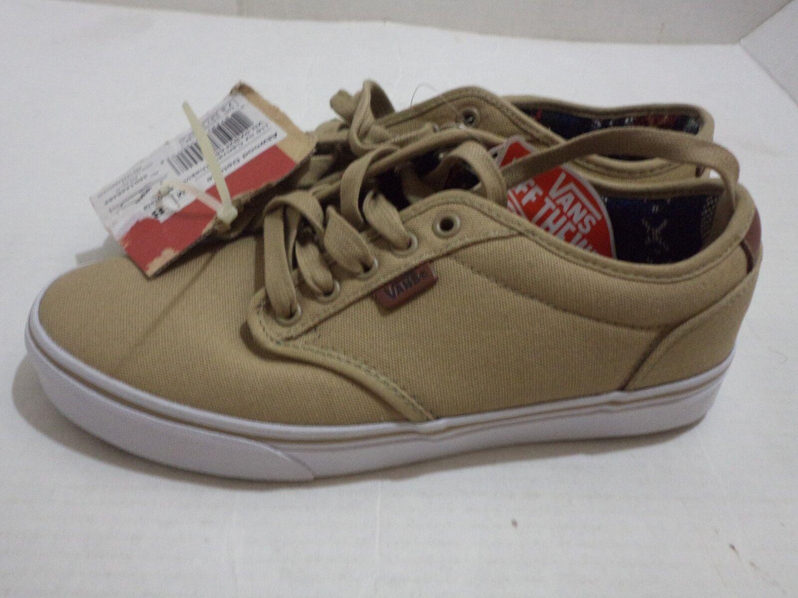 Vans Men's Atwood Skate 13 Shoe Size 8.5 - 13 Skate Color Black, Khaki, Chili, Navy Blue 285c4a