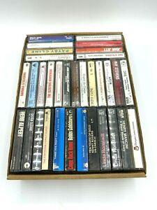 cassette tapes lot of 33 three dog night billy idol joan jet patsy cline etc.