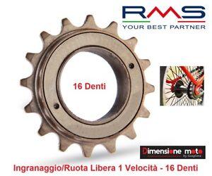0120-Ingranaggio-Ruota-Libera-034-RMS-034-16-Denti-1-Vel-per-Bici-Bimbo-a-Olanda