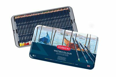 2019 Nieuwe Stijl Derwent Professional Watercolour Pencils 36 Tin Set Of Water Soluble Colours 50% Korting