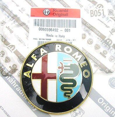 100% Originali Alfa Romeo 156 166 Gtv6 & Spider Nuova Anteriore Griglia Badge 60596492-