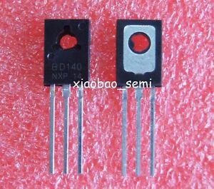 POWER TRANSISTORS TO-126 20PCS BD139+20PCS BD140 20pairs BD139//BD140