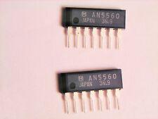 "AN5560  ""Original""  Panasonic (Matsushita)  7P SIP IC  2 pcs"