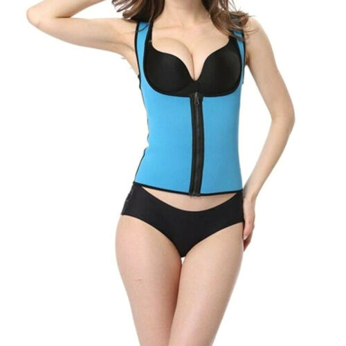 Ultra Sweat Body Slim Waist Trainer Fitness Vest Corset Tight Belly Shapewear