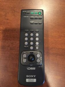 Sony Satellite Receiver Remote Multi Device Tv Cbl Dss Rm Y130 7532005231224 Ebay