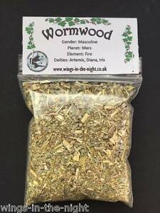 WORMWOOD Dried Magical Herb ~ Psychic Powers//Love ~ Witchcraft//Wicca//Pagan
