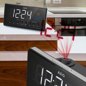 Erstaunlich Das Bild Wird Geladen Design Radio Wecker Schlafzimmer Uhr  Datum Temperatur Wetter