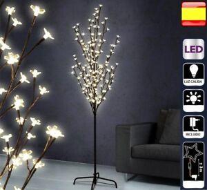 Arbol De Navidad 180 Cm Luces Led Decorativo Cerezo Ebay