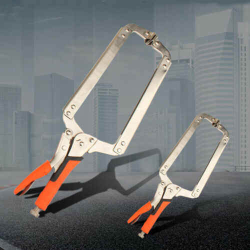 6/'/' C Clamp Vise Grip Welding Locking Quick Plier Wood Tenon Locator Tools USA