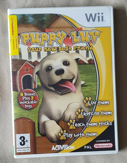 Nintendo Wii Game-Puppy Luv votre nouvel ami + Instructions