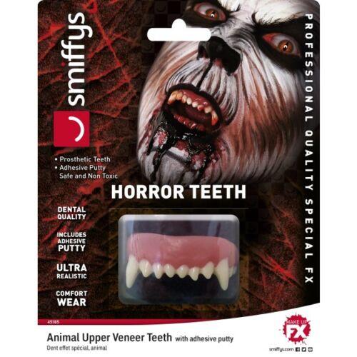 Special FX Teeth Mens Ladies Halloween Fancy Dress False Scary Teeth