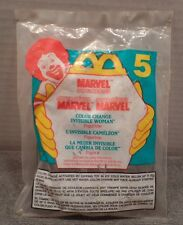 Mc Donalds Happy Meal Toy Marvel Super Hero #5 Color Change Invisible Woman