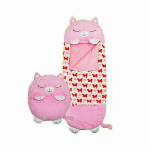 Fun Animal Sleeping Bag Super Soft Foldable SALE Happy Kids Nappers Play Pillow
