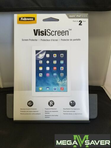 Fellowes VisiScreen Screen Protector for Apple iPad 2//3//4 2Packs