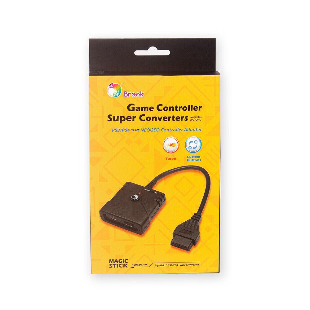 [Brook] PS3/PS4 to NEOGEO Supver Converter