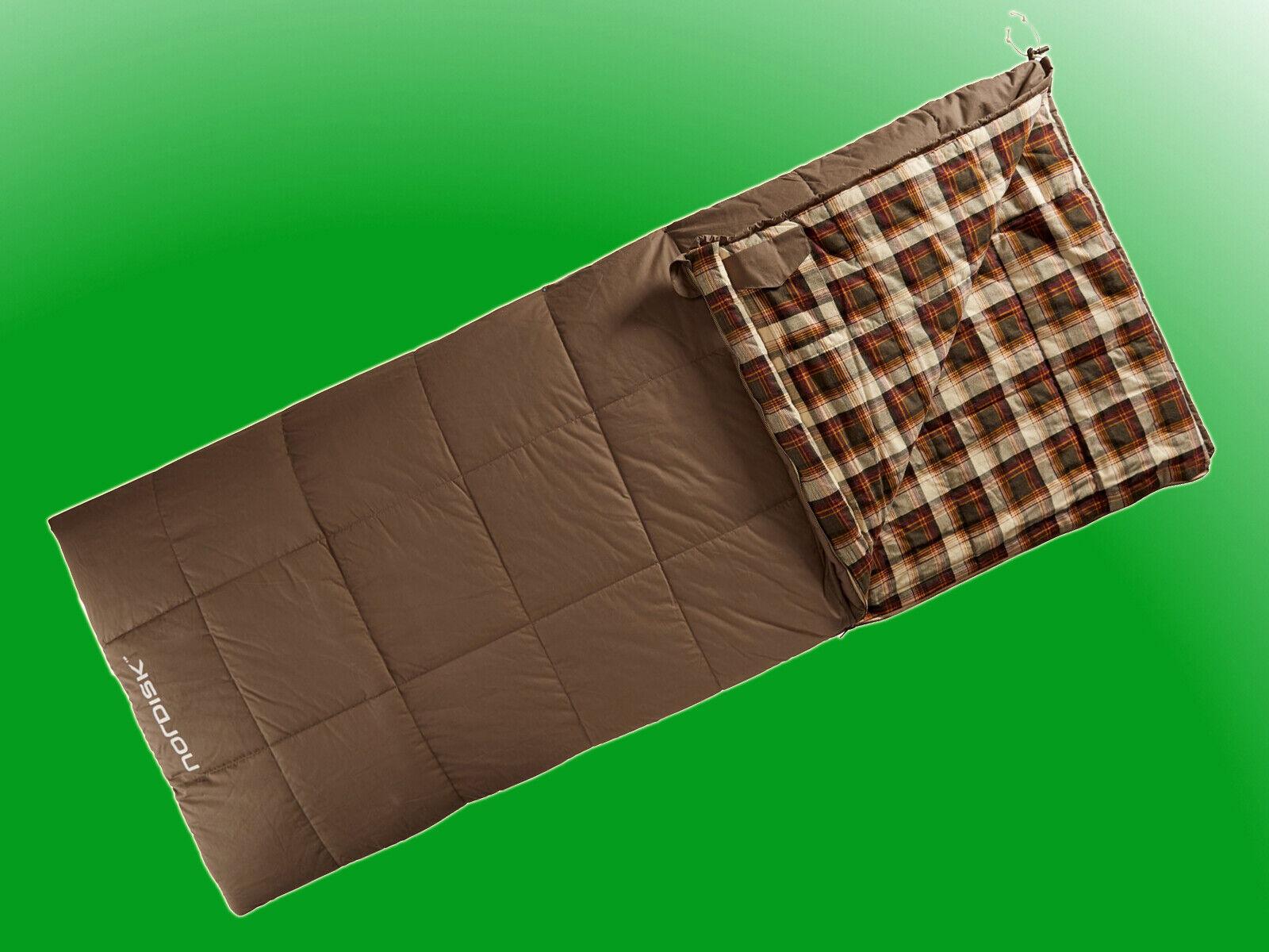Nordisk Sacco a pelo Almond-Sacco a pelo soffitto -2 ° C - 100% cotone flanella