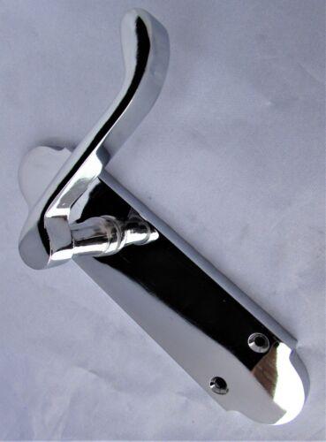 Contemporary Fresh Epsom Internal Door Handles Chrome Latch Handles Door Sets D3