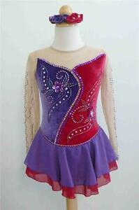 Kim Competition Ice Skating Roller Skating Dress Size 5 - 6