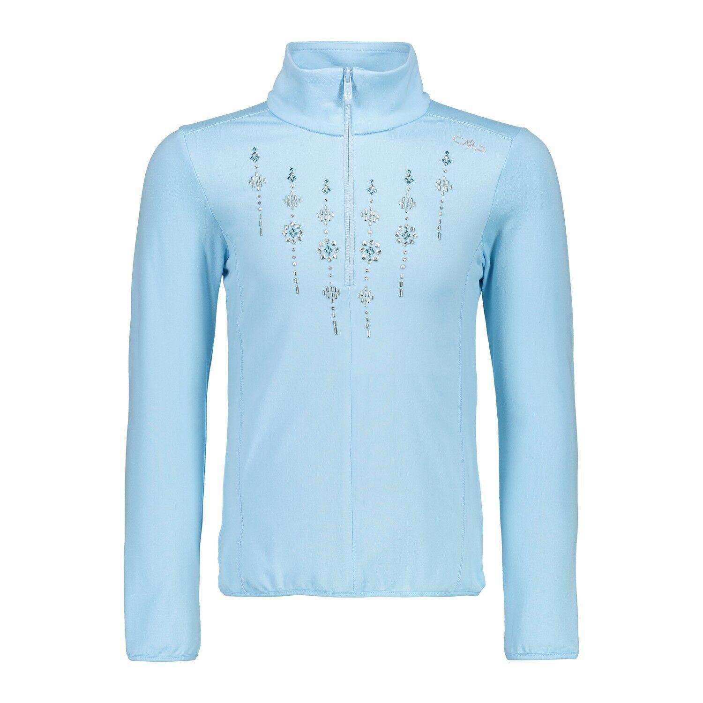 CMP Sudadera de Polar Suéter  Girl Sweat blue Transpirable Elástica Liviando  welcome to order