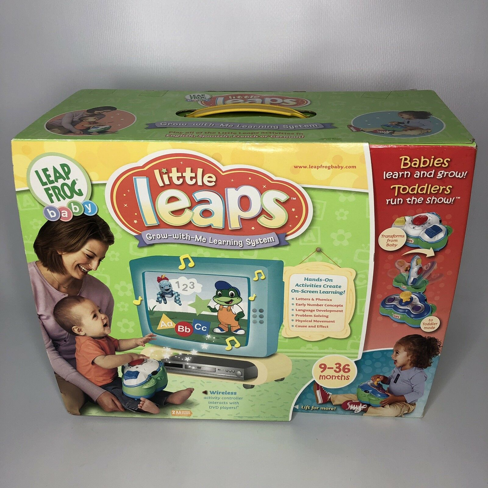 Sealed Little Touch LeapPad Learning System by LEAP FROG Baby 6-36 Months New