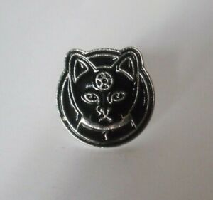 Details about round cat pentacle enamel pin Witch wicca ( for clothing,  purse, bag, shoe)