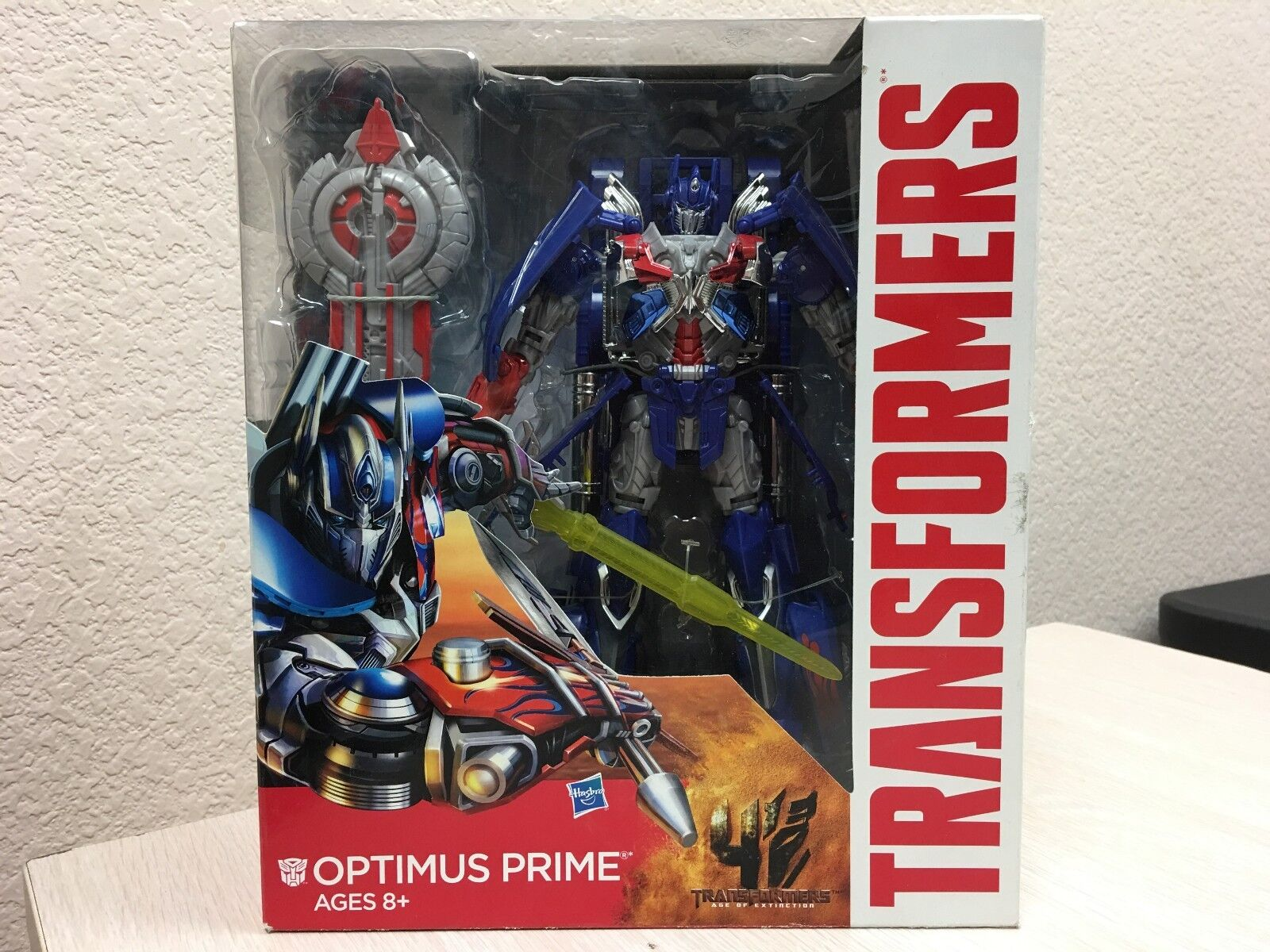 Transformers Generations Age of Extinction Movie Optimus Prime Leader Class NEW