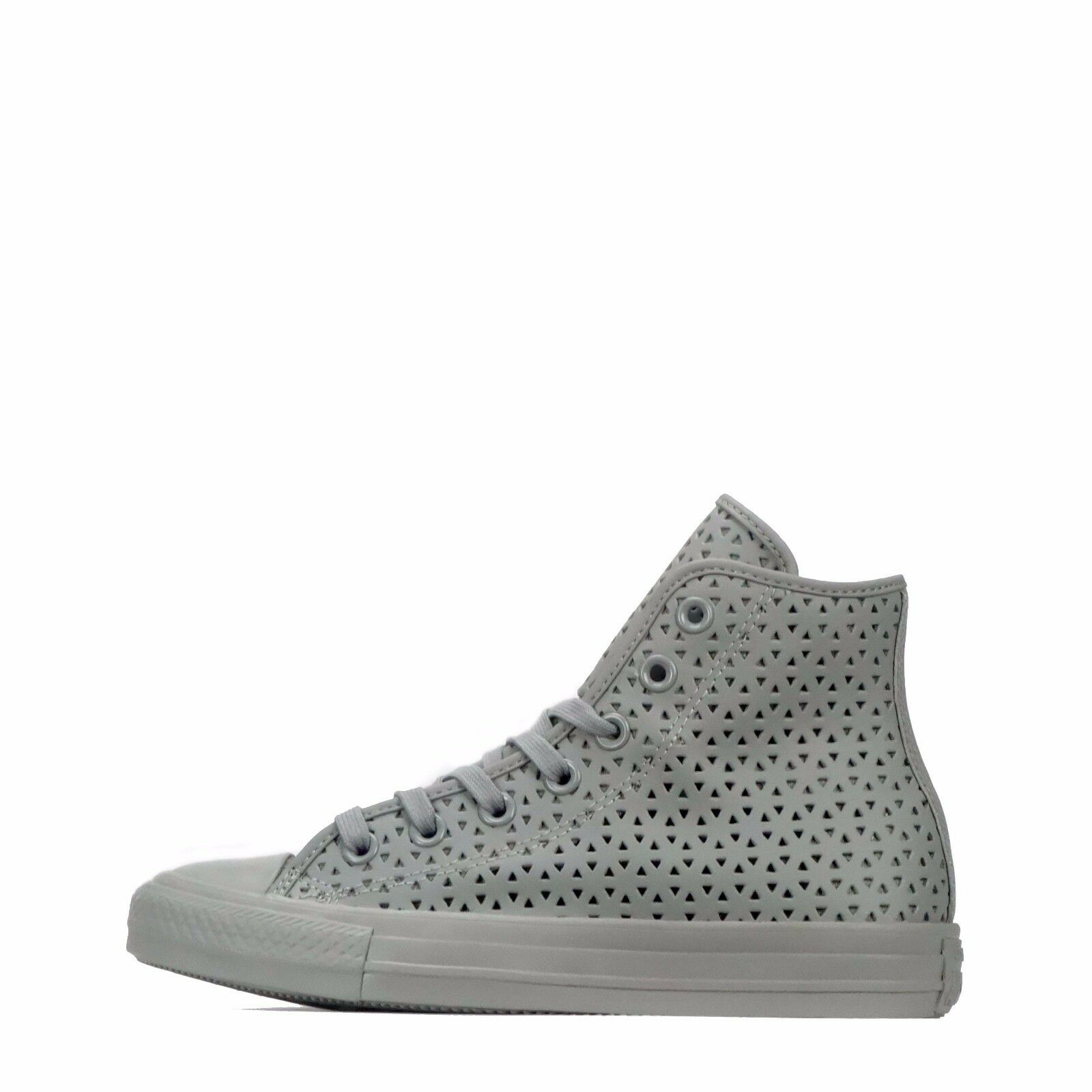 Converse Converse Converse Chuck Taylor All Star Hi Perforated Women's Shoes Dolphin Grey e4f1f3