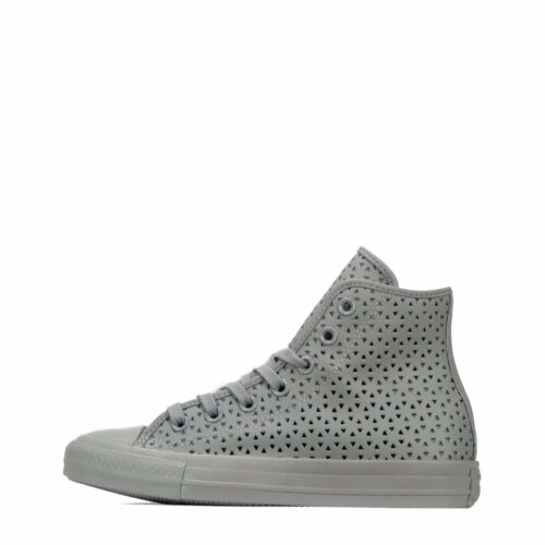 da Converse donna Grey Chuck Dolphin perforate Star Hi All Scarpe Taylor Ta0pwaq
