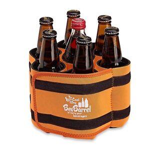 BevBarrell-Bev-Barrell-Portable-Beverage-Carrier-Cooler-Holds-7-6-Colors-Camo