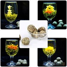 Excellent Different Handmade Blooming Flower Green Tea Wedding Home Gift 4 Balls