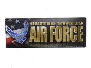 "U.S. Air Force USAF USA American 7.75x3"" Inch Magnet (Car / Fridge / Other)"