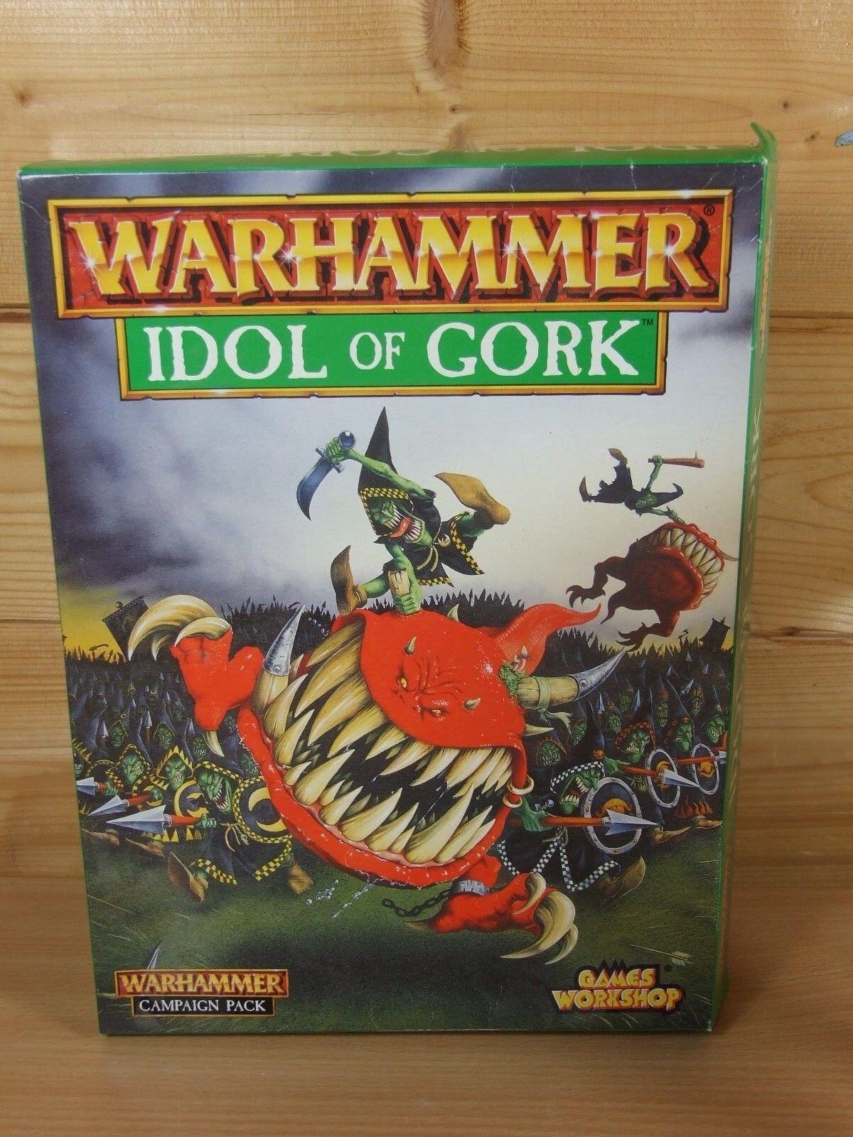 grande sconto 90% COMPLETO WARHAMMER WARHAMMER WARHAMMER IDOLO DI gorK set venduto come si vede  la migliore offerta del negozio online