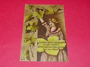 """Cpa Carte Postale 1918 """"la Plante Au Mur S'est Agrippée..."""" / L'as N°3006 Kmfxhuym-08005421-800152105"""