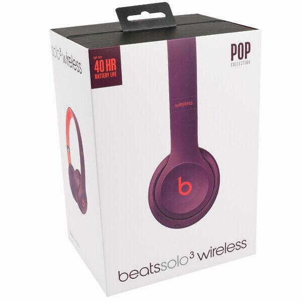 7ec0eb082ae Beats Solo3 Wireless Headphones Pop Collection (pop Magenta) for ...