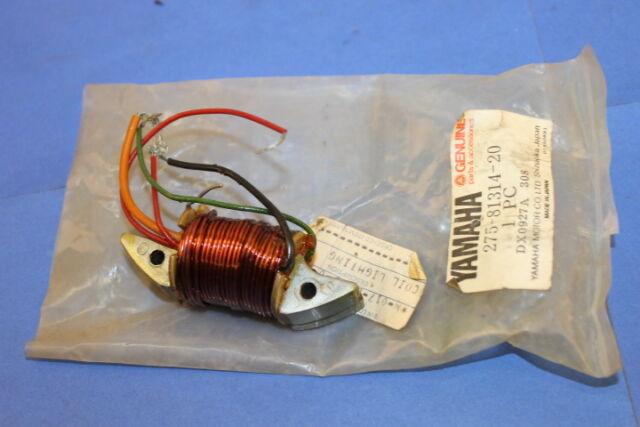275-81314-20 NOS Yamaha Lighting Coil RT1 RT1B RT1M Off-Road 1970 1971 W2224