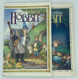 The HOBBIT Comic Graphic Novel Tolkien Lord Of the Rings #1 & #2 (FIRST PRINT)