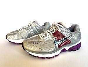 lavanderia azione commestibile  Nike Zoom Vomero 5+ Womens Size 6 - Silver Purple Athletic Running Hiking  Shoes | eBay