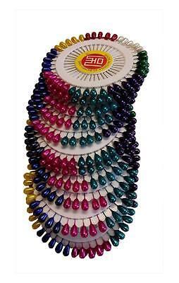 120pcs Hijab Scarf Long Pins Tailor Sewing Bridal Wedding Florist Size 50mm