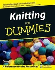 --For Dummies: Knitting for Dummies® by Pam Allen (2002, Paperback)