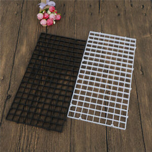 Fish-Tank-Durable-Plastic-Fish-Grid-Divider-Holder-Tray-Egg-Crate-Aquarium-lj-D