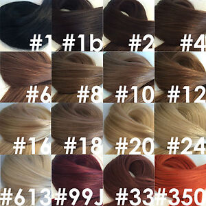 18-20-034-5a-Indian-Remy-100-Human-Hair-Extensions-Double-drawn-Stick-Tip-mini