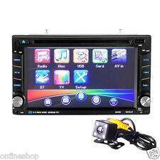 6.5 doppio 2din Touch Auto Stereo CD DVD Player Bluetooth USB SD RADIO AM FM TV