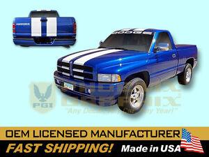 1996 dodge ram 1500 v8 magnum indy 500 pace truck decals stripes kit ebay. Black Bedroom Furniture Sets. Home Design Ideas