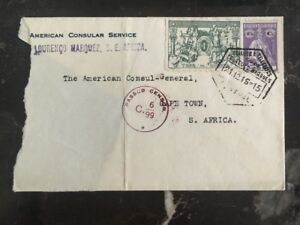 1916-American-Consulate-Lorenzo-Marques-Diplomatic-cover-to-Cape-Town-S-Africa