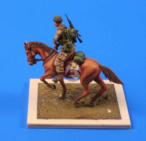 CMK 1//35 US Mounted Soldier in Afghanistan F35208 1 Figure + Horse