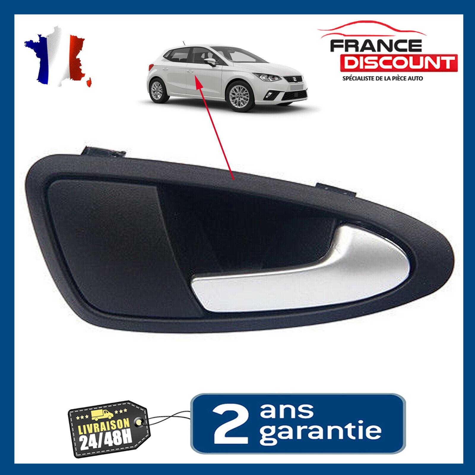 Gaetooely Poign/ée de Porte Int/éRieure Auto Voiture pour Seat Ibiza 2009-2012 Gw 6J0837113a 6J1837113a Gauche
