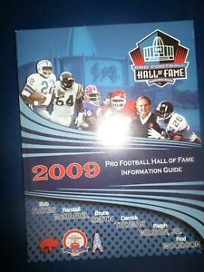 c15daec8f07 2009 FOOTBALL HALL OF FAME Yearbook Bob Hayes Bruce Smith Rod ...