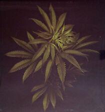 Green Leaves Weed Marijuana Cannabis 3-D Lenticular Hologram Hanging Wall Art